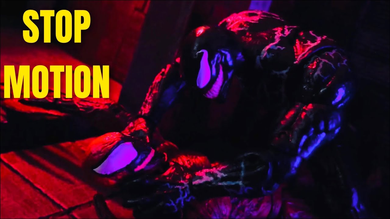 VENOM vs CARNAGE - Stop Motion - Let there be carnage