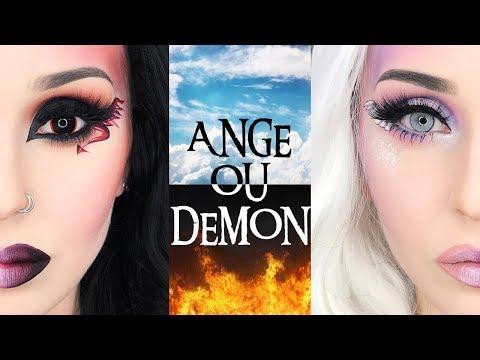 Mi-Ange Mi-Démon Makeup HALLOWEEN 2017 streaming vf