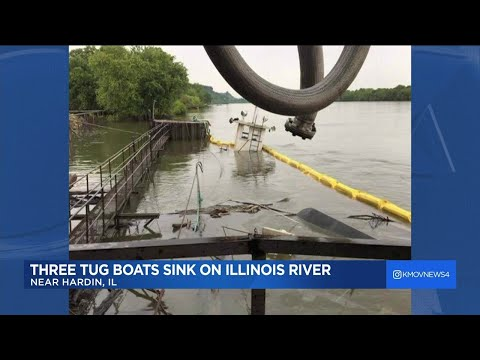 'Major marine casualty' under investigation in Calhoun County after tugboats sink