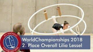 World Championships in Gymwheel 2018 Finals Lilia Lessel