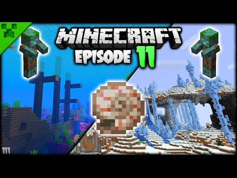 TREASURE HUNTING In Minecraft! | Python's World (Minecraft Survival Let's Play S2) | Episode 11