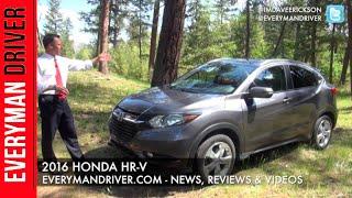 2016 Honda HR-V Review on Everyman Driver