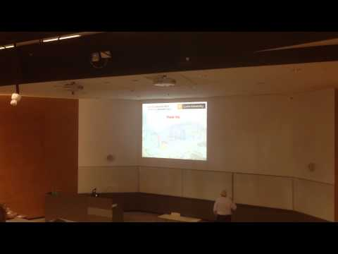 Dr. Ian Chandler's Last Lecture at Curtin University of Tech