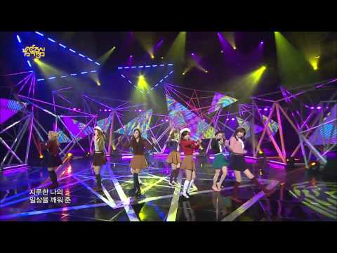 【TVPP】SNSD - Dancing Queen, 소녀시대 - 댄싱 퀸 @ Comeback Stage, Show Music Core Live