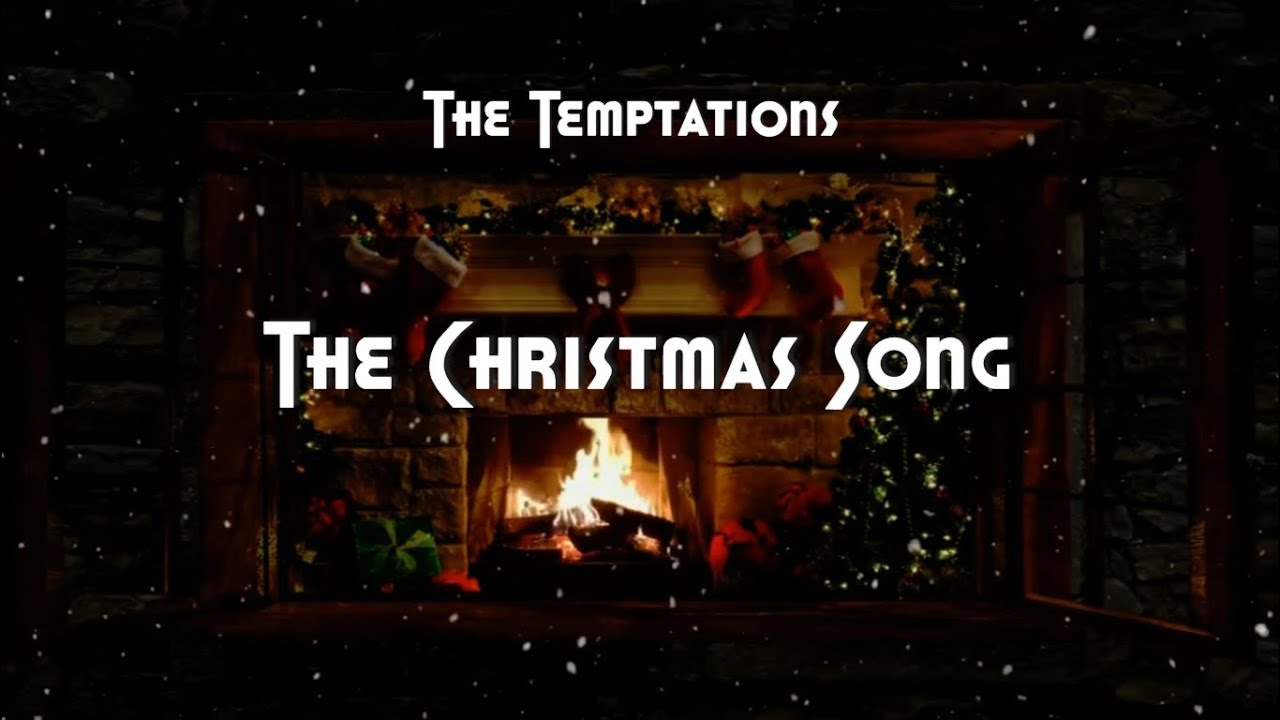 The Temptations The Christmas Song Hd Lyrics Youtube