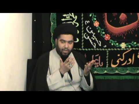 Syed Niaz Hussain Naqvi @Zamin Bhai's Residence,Dublin-Ireland -8th Moharam