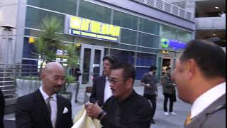 Sonny Chiba spotted arriving at event in Los Angeles