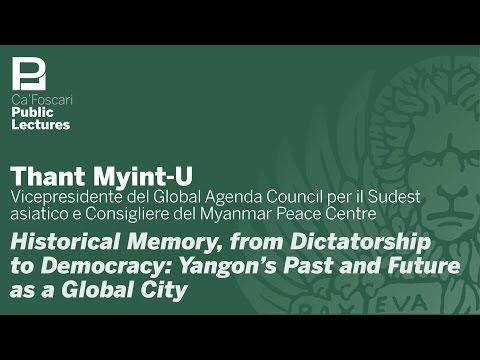 Public Lecture Thant Myint U