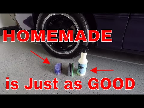 DIY / Do it Yourself Tire shine / dressing Applicator