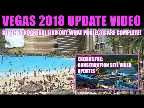 What's New In Las Vegas For 2018 - UPDATE