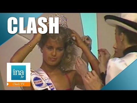 Miss France 1987, l'erreur du jury lors de l'élection   Archive INA