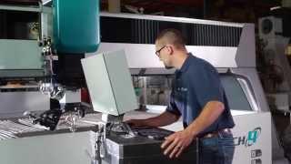 Гидроабразивная резка - станок Flow Mach 4c(Флагман модельного ряда гидроабразивных станков Flow, в арсенале которого высокоточная система 3D-обработки..., 2014-09-03T12:22:08.000Z)