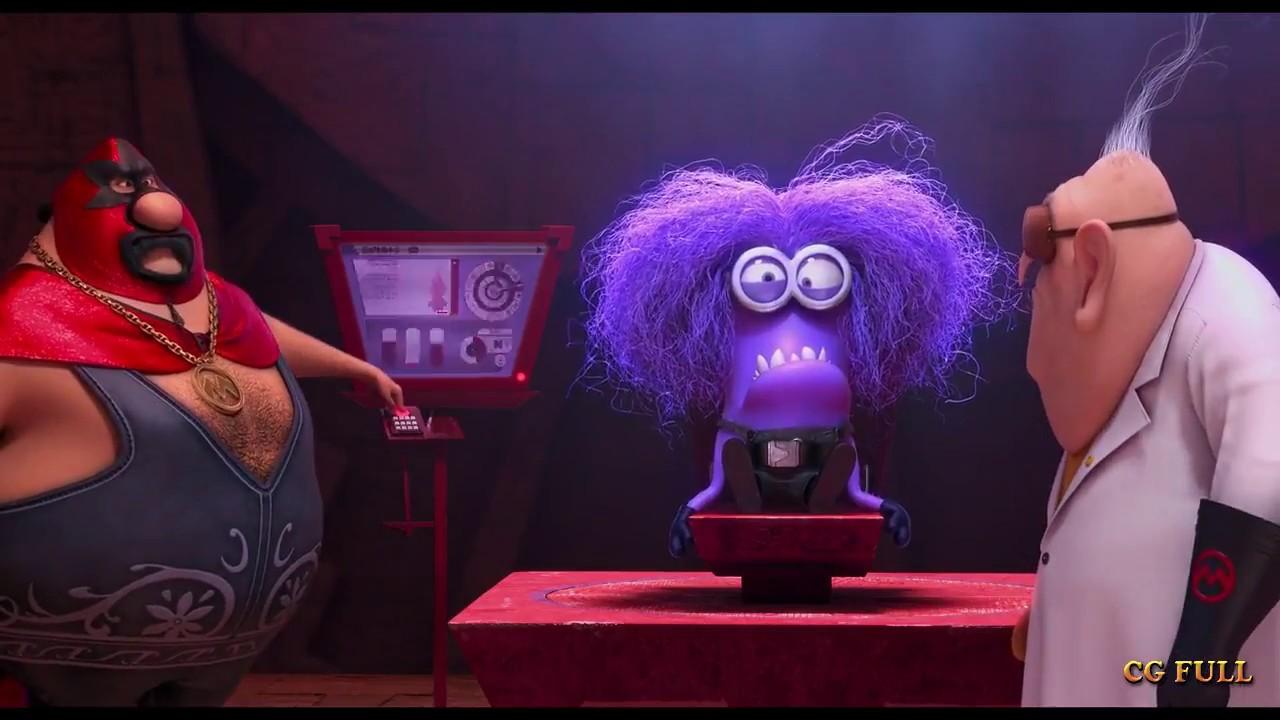 Download Motivation of purple minion Despicable me 2 (2013) Hd