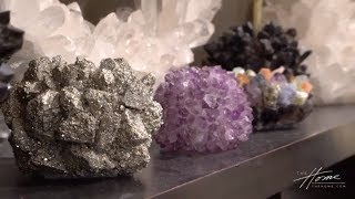 CRYSTAL HOME DECOR AND FURNITURE BY KATHRYN MCCOY