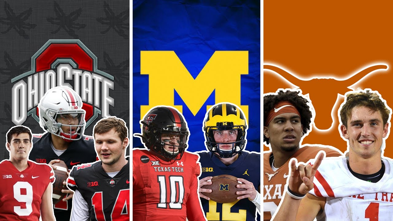 The 10 MOST COMPETITIVE QB Competitions in college football