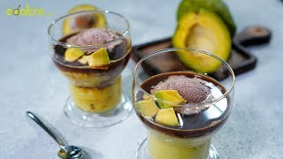Resep Avocado Coffee Ice Cream, Cara Supersedap Menikmati Avokad