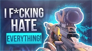 Destiny THE WORST F*CKING GAMES EVER - So Much RAGE On Destiny & Overwatch