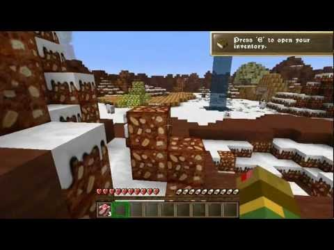 Minecraft Custom Survival Map Dedicated To Christmas (in Slovenian Language) Part 1