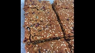 Granola Bars Using Thermomix