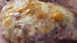 Easy Chicken Recipes - Cheesy Chicken Casserole With Red Wine