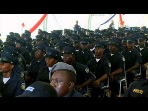Liberia National Police graduates Basic Recruit Class 42