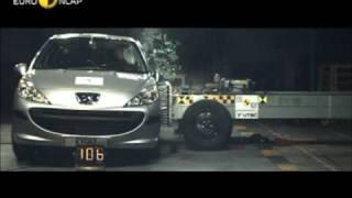 Euro NCAP | Peugeot 207 | 2006 | Crash test
