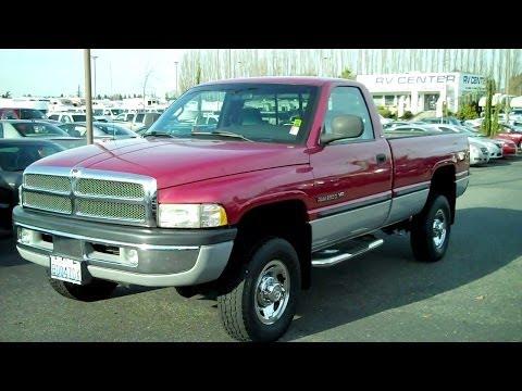 1999 Dodge Ram 2500 Laramie SLT 4WD Magnum 8.0L V10 MPI 4x4
