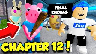 PIGGY CHAPTER 12 PLANT FINAL ENDING... *BUNNY AND DOGGY ALIVE?* (Roblox)