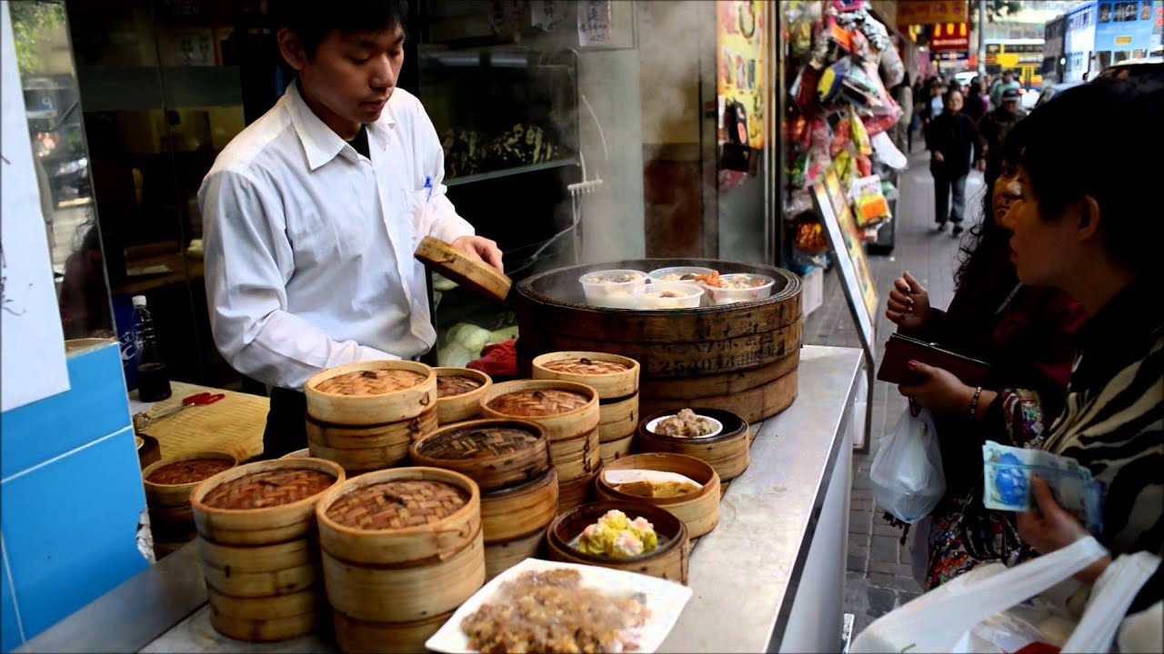 Hong kong street food dim sum served in the streets of for Cuisine x hong kong