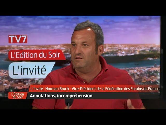 L'Édition du Soir | L'invité | Norman Bruch, vice-président Fédération des forains de France