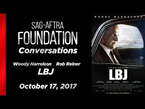 Conversations with Woody Harrelson and Rob Reiner of LBJ