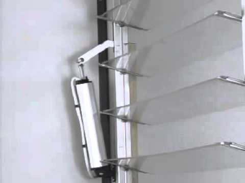 Louvres Vertical Somfy Rodeo Motor Youtube