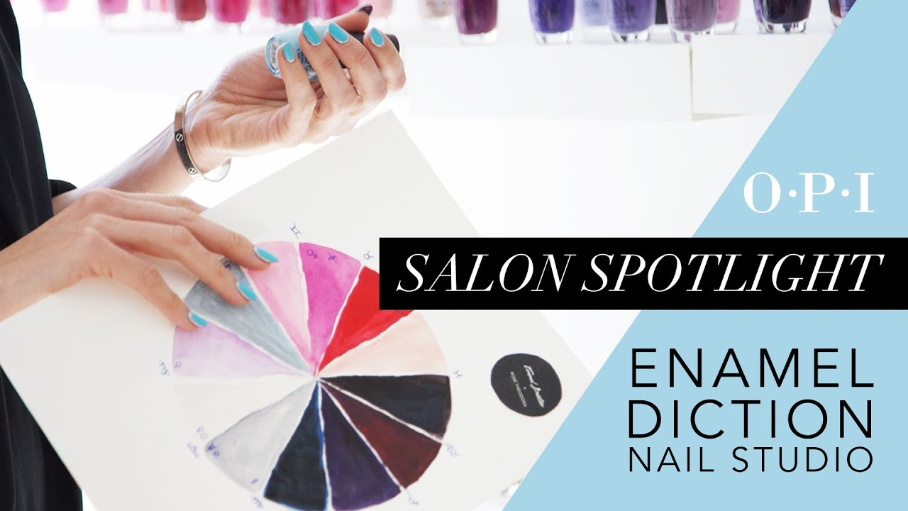 OPI Studio Spotlight | Enamel Diction Color and Nail Studio curated colorastrology experience by Rose