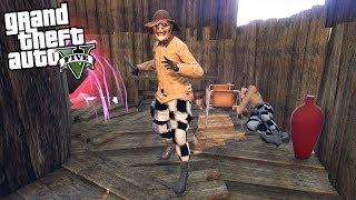 GTA 5 Scary Mystery Guy in Woods - Halloween (GTA 5 Mods)