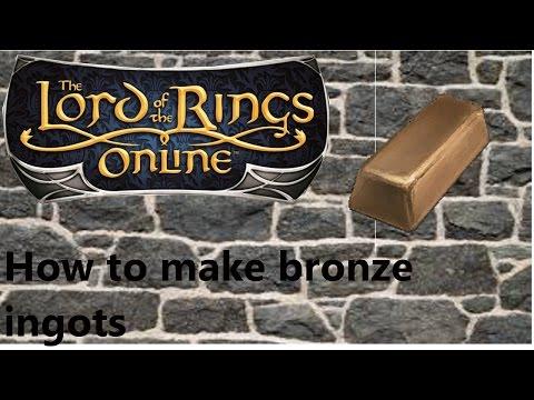 How To Get Bronze Ingots In LOTRO