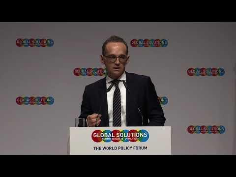 GLOBAL SOLUTIONS 2018 - Rede von Heiko Maas