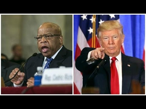 Trump attacks civil rights legend John Lewis on Twitter