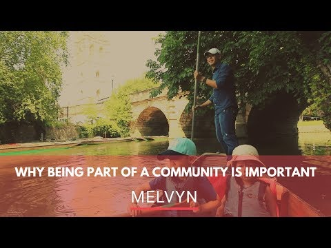 WHY BEING PART OF A COMMUNITY IS IMPORTANT