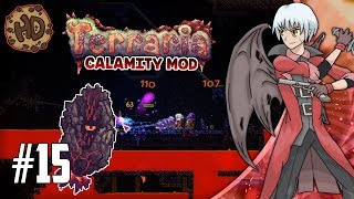 Terraria BRIMSTONE ELEMENTAL WAIFU?! | Terraria Calamity Let's Play | 1.3.5 Death Mode #15