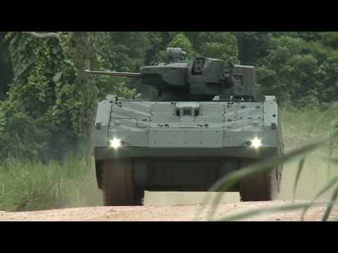 Singapore's Next Generation Armoured Fighting Vehicle