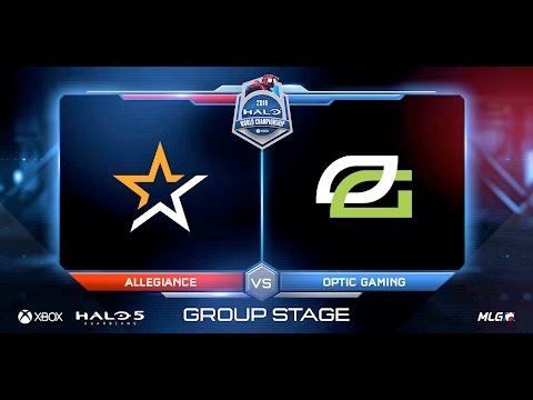 NA Regional Group Stage – OpTic Gaming vs Allegiance