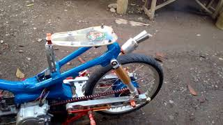 Gambar cover Simple drag bike 100cc