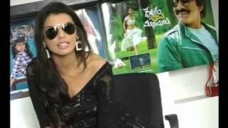 Gabriela Bertante about Devudu Chesina Manushulu Movie - Gabriela Bertante