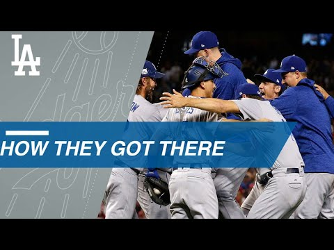 Path to the Splash: Dodgers claim NL West, win NLDS