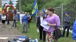 31.05.2015 Мітинг в Одинцово проти точкової забудови