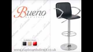 Bueno Bar Stool - FAST FREE DELIVERY from Cupboards Direct