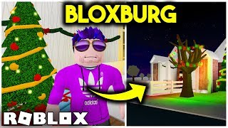 SO SPENT CHRISTMAS EVE in BLOXBURG! | ROBLOX