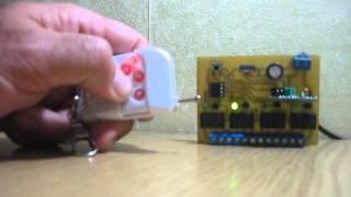 Дистанционное управление по радио(Как сделать дистанционное управление самостоятельно, читайте на сайте http://electromost.com., 2013-09-20T20:54:27.000Z)
