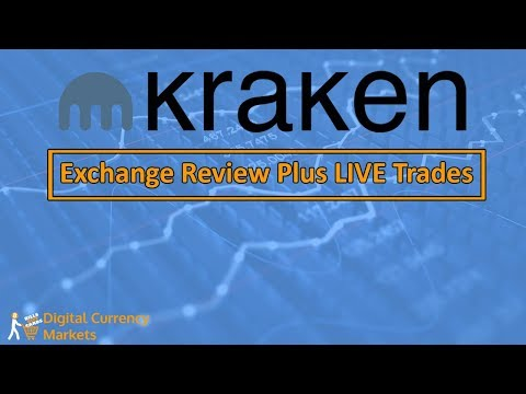 Kraken Exchange Review - Live Trading