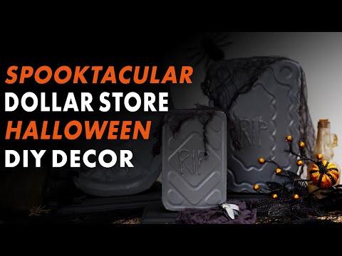 5 Cheap & Easy Dollar Store Halloween DIYs - HGTV Handmade